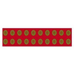Christmas Paper Wrapping Paper Satin Scarf (oblong)