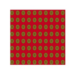 Christmas Paper Wrapping Paper Small Satin Scarf (square)