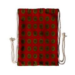 Christmas Paper Wrapping Paper Drawstring Bag (small)