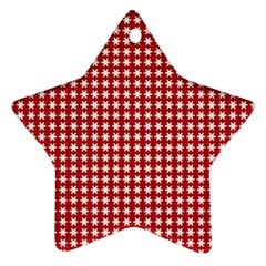 Christmas Paper Wrapping Paper Ornament (Star)