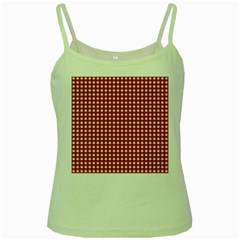 Christmas Paper Wrapping Paper Green Spaghetti Tank
