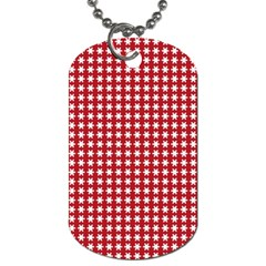 Christmas Paper Wrapping Paper Dog Tag (One Side)