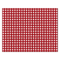 Christmas Paper Wrapping Paper Rectangular Jigsaw Puzzl