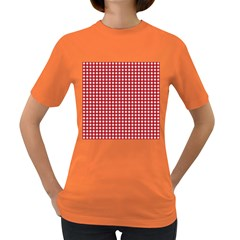 Christmas Paper Wrapping Paper Women s Dark T Shirt