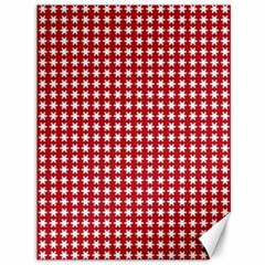 Christmas Paper Wrapping Paper Canvas 36  x 48
