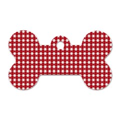 Christmas Paper Wrapping Paper Dog Tag Bone (One Side)
