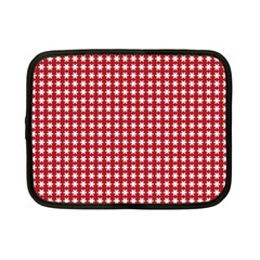 Christmas Paper Wrapping Paper Netbook Case (Small)