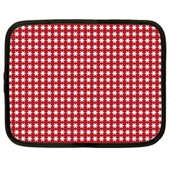 Christmas Paper Wrapping Paper Netbook Case (XL)