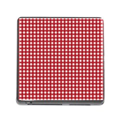 Christmas Paper Wrapping Paper Memory Card Reader (Square)