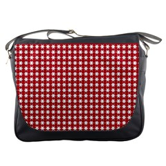 Christmas Paper Wrapping Paper Messenger Bags