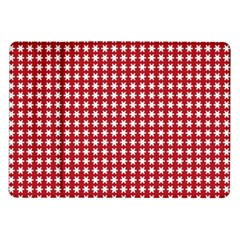 Christmas Paper Wrapping Paper Samsung Galaxy Tab 10 1  P7500 Flip Case