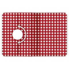 Christmas Paper Wrapping Paper Kindle Fire Hdx Flip 360 Case