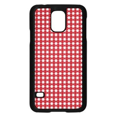 Christmas Paper Wrapping Paper Samsung Galaxy S5 Case (black)