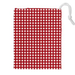 Christmas Paper Wrapping Paper Drawstring Pouches (XXL)