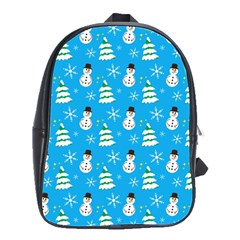 Christmas Pattern School Bags(Large)