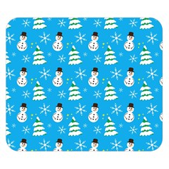 Christmas Pattern Double Sided Flano Blanket (Small)