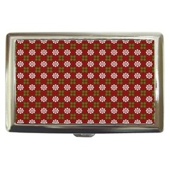 Christmas Paper Wrapping Pattern Cigarette Money Cases