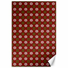 Christmas Paper Wrapping Pattern Canvas 20  x 30