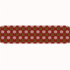 Christmas Paper Wrapping Pattern Large Bar Mats