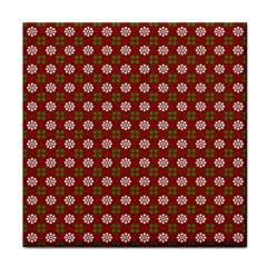 Christmas Paper Wrapping Pattern Face Towel