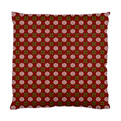 Christmas Paper Wrapping Pattern Standard Cushion Case (One Side)