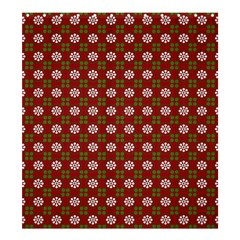 Christmas Paper Wrapping Pattern Shower Curtain 66  X 72  (large)