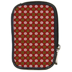 Christmas Paper Wrapping Pattern Compact Camera Cases