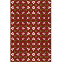 Christmas Paper Wrapping Pattern 5.5  x 8.5  Notebooks