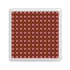 Christmas Paper Wrapping Pattern Memory Card Reader (square)