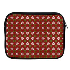 Christmas Paper Wrapping Pattern Apple iPad 2/3/4 Zipper Cases