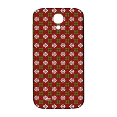 Christmas Paper Wrapping Pattern Samsung Galaxy S4 I9500/i9505  Hardshell Back Case