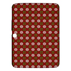 Christmas Paper Wrapping Pattern Samsung Galaxy Tab 3 (10 1 ) P5200 Hardshell Case
