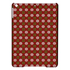 Christmas Paper Wrapping Pattern iPad Air Hardshell Cases