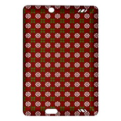 Christmas Paper Wrapping Pattern Amazon Kindle Fire Hd (2013) Hardshell Case