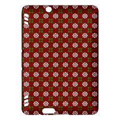 Christmas Paper Wrapping Pattern Kindle Fire HDX Hardshell Case