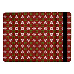 Christmas Paper Wrapping Pattern Samsung Galaxy Tab Pro 12 2  Flip Case