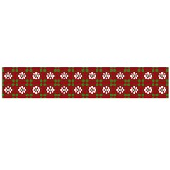 Christmas Paper Wrapping Pattern Flano Scarf (large)