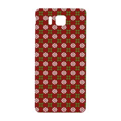 Christmas Paper Wrapping Pattern Samsung Galaxy Alpha Hardshell Back Case