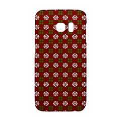 Christmas Paper Wrapping Pattern Galaxy S6 Edge