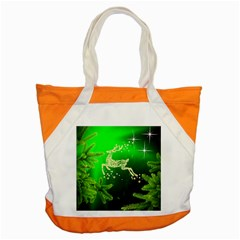 Christmas Reindeer Happy Decoration Accent Tote Bag