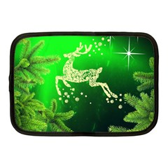 Christmas Reindeer Happy Decoration Netbook Case (Medium)