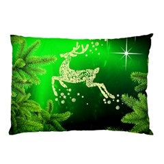 Christmas Reindeer Happy Decoration Pillow Case