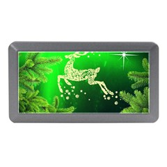 Christmas Reindeer Happy Decoration Memory Card Reader (Mini)