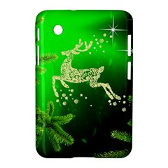 Christmas Reindeer Happy Decoration Samsung Galaxy Tab 2 (7 ) P3100 Hardshell Case