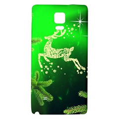 Christmas Reindeer Happy Decoration Galaxy Note 4 Back Case