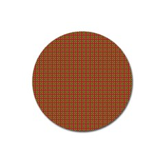 Christmas Paper Wrapping Paper Magnet 3  (Round)