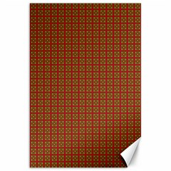 Christmas Paper Wrapping Paper Canvas 20  x 30