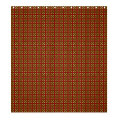 Christmas Paper Wrapping Paper Shower Curtain 66  x 72  (Large)