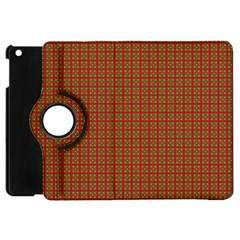 Christmas Paper Wrapping Paper Apple Ipad Mini Flip 360 Case