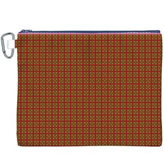 Christmas Paper Wrapping Paper Canvas Cosmetic Bag (xxxl)